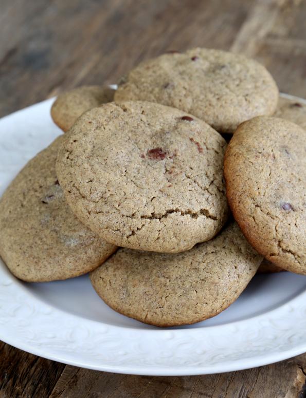 Gluten Free Peanut Butter Buckwheat Chocolate Chip Cookies ...