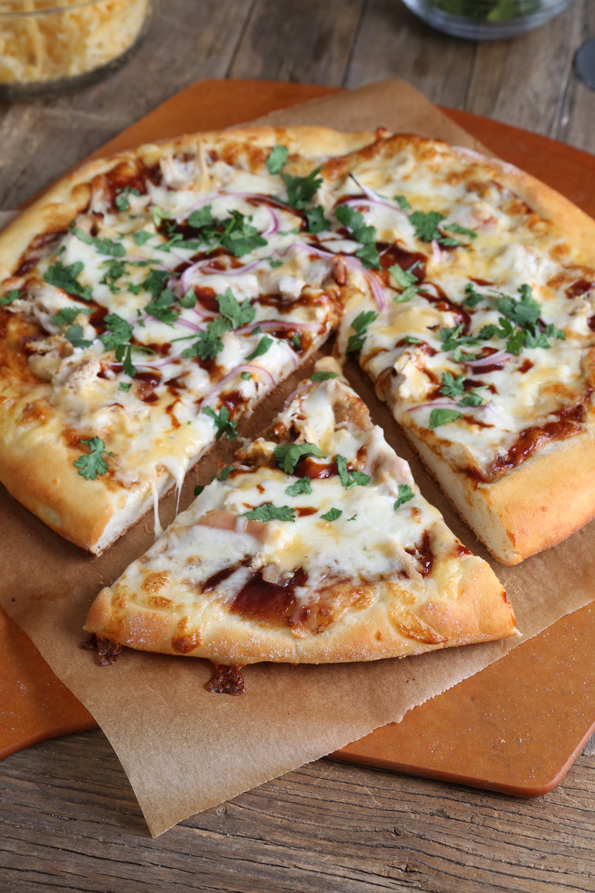 beautiful Does California Pizza Kitchen Have Gluten Free #2: California Pizza Kitchen-Style Gluten Free BBQ Chicken Pizza
