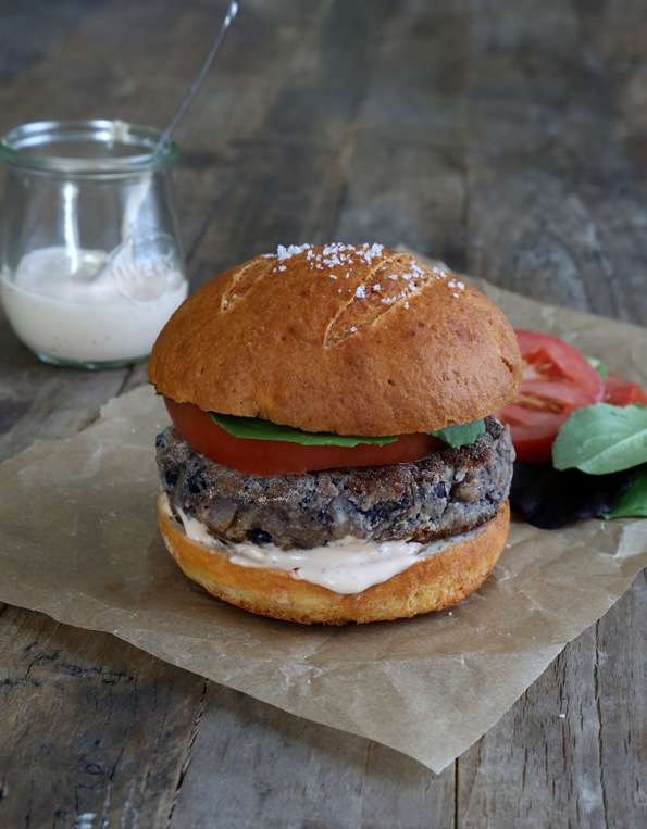 The Best Gluten Free Black Bean Veggie Burgers