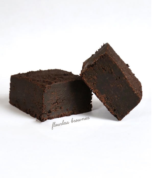 Flourless Gluten Free Brownies