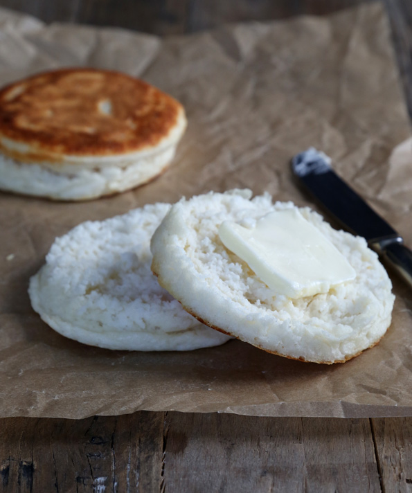 Super Fluffy Gluten Free English Muffins - Gluten Free on a Shoestring
