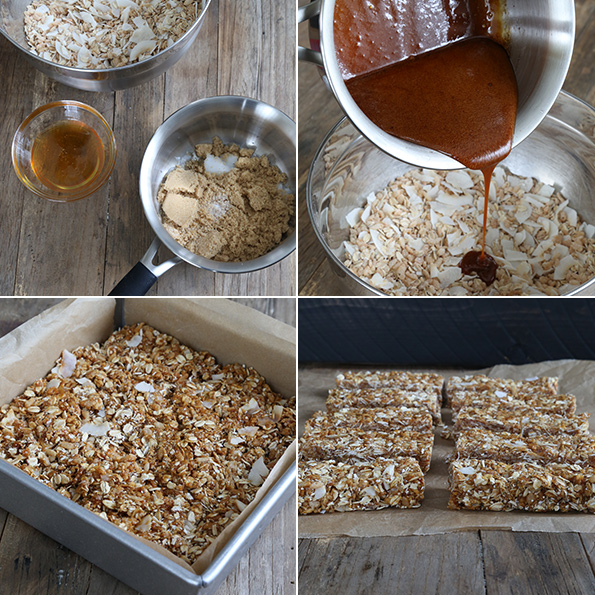 No Bake Gluten Free Granola Bars