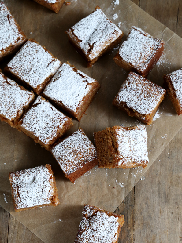 Gluten Free Apple Gingerbread Snack Cake - Great gluten free recipes ...