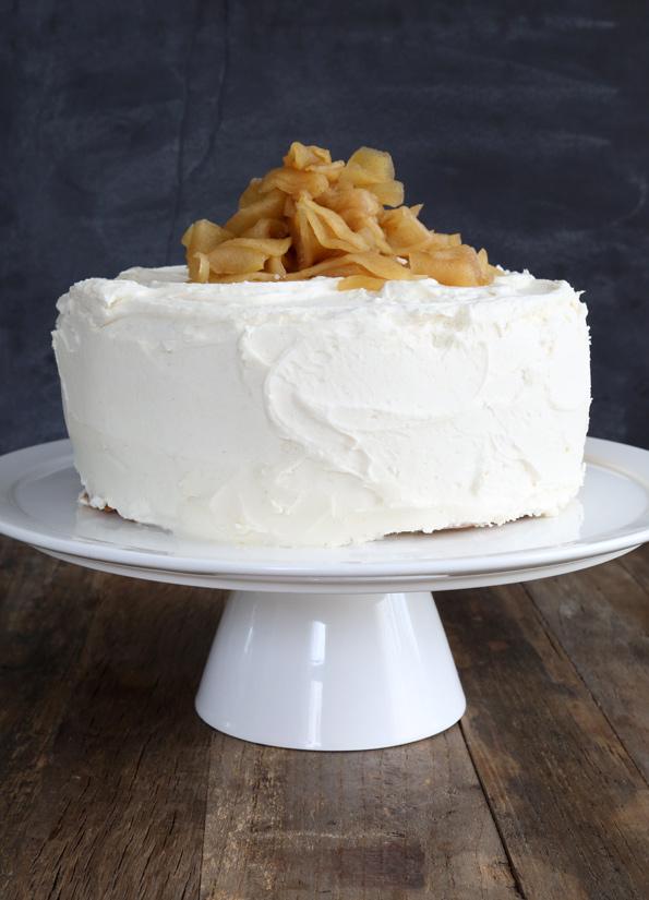 Gluten Free Apple Butter Layer Cake