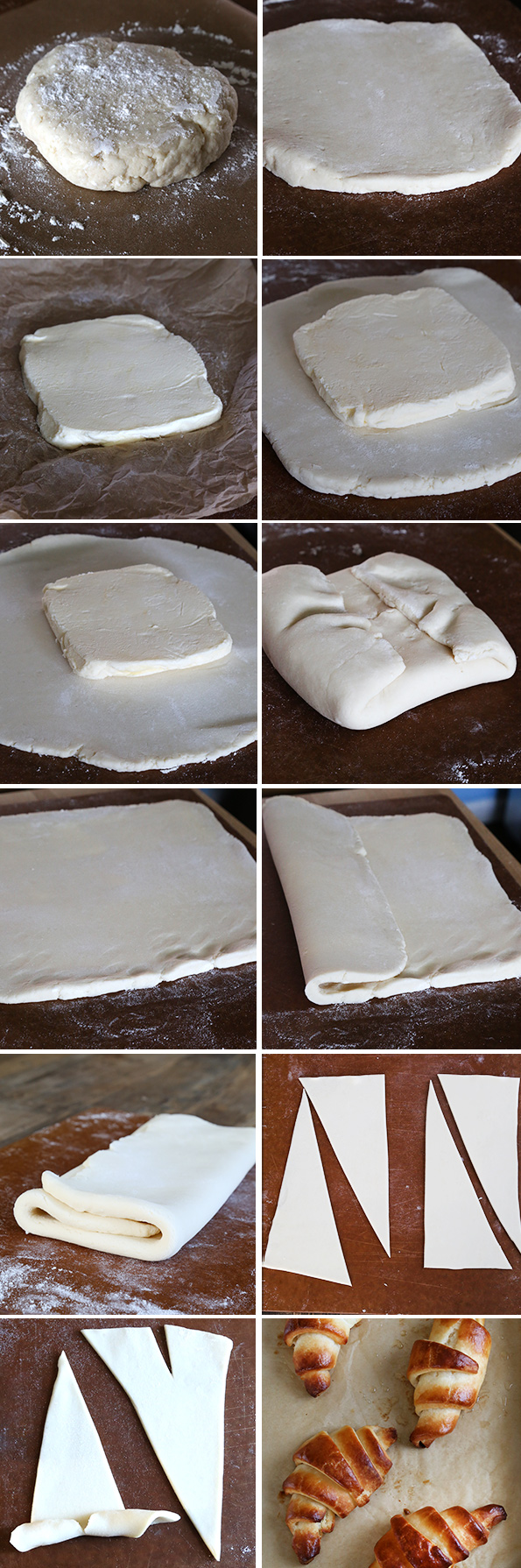 Gluten Free Croissants Step by Step