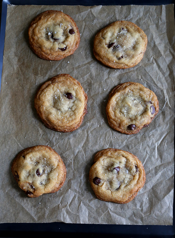 Gluten Free Browned Butter Nutella Chocolate Chip Cookies ⋆ Great ...