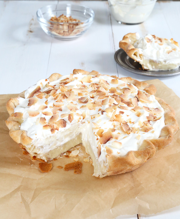 Gluten Free Coconut Cream Pie