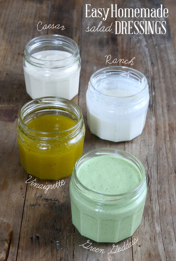 D.I.Y. Friday: Easy Homemade Salad Dressings