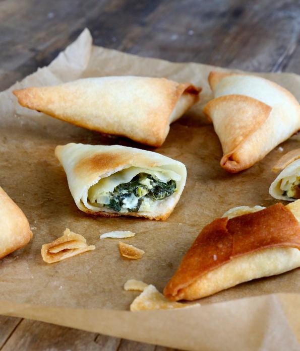 Gluten Free Phyllo Dough and Spanakopita
