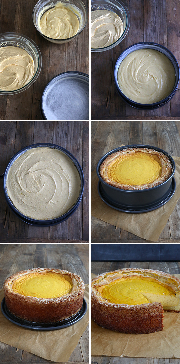 Gluten Free Pumpkin Butter Cake Step By Step