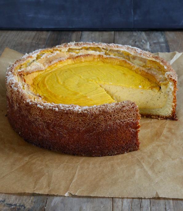 Gluten Free Pumpkin Butter Cake