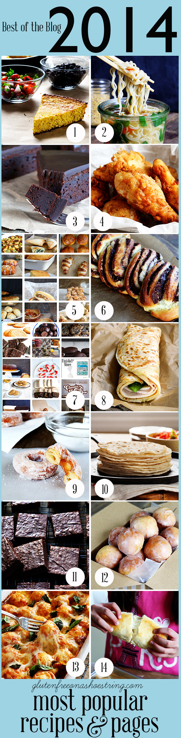 The Very Best Gluten Free Recipes, 2014 edition