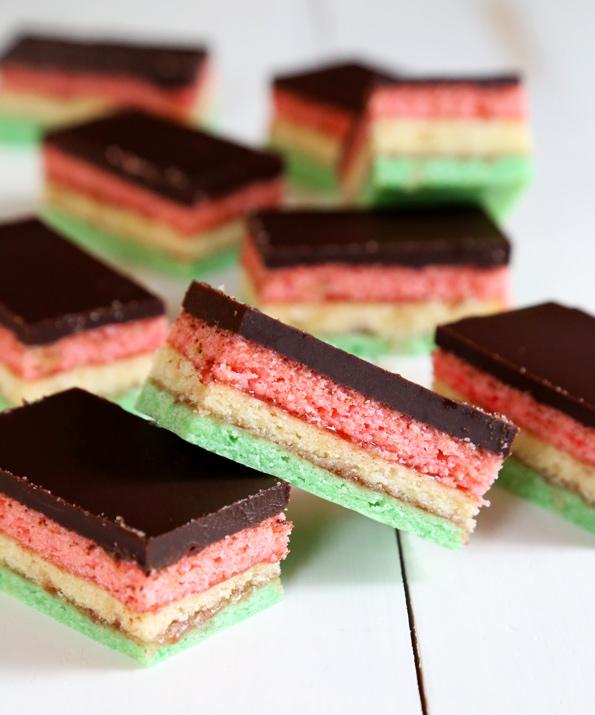 Gluten Free Rainbow Cookies