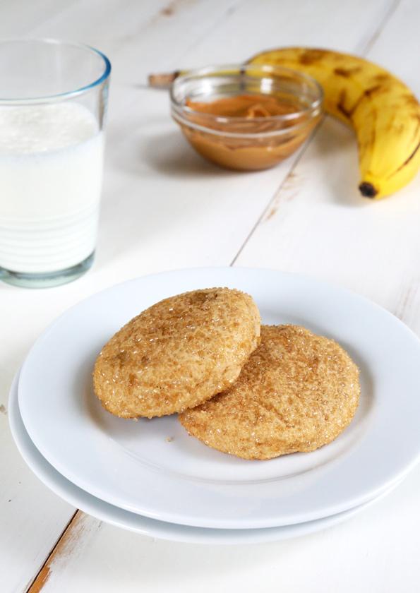 Gluten Free Peanut Butter Banana Cookies