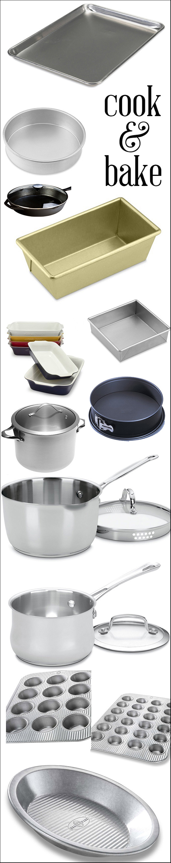 Essential Cooking and Baking Equipment: Cook & Bake