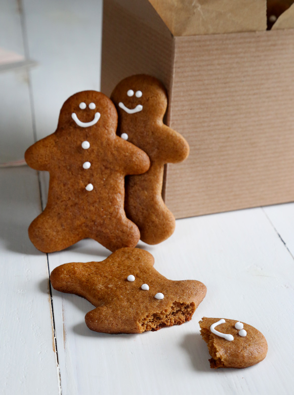 Soft and Chewy Gluten Free Gingerbread Men Cookies