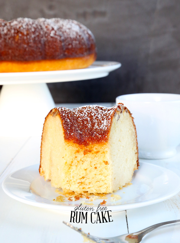 Gluten Free Rum Cake—from Gluten Free on a Shoestring