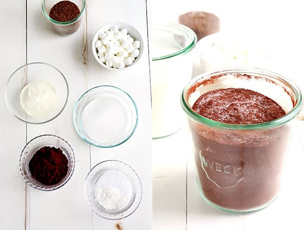Homemade Gluten Free Hot Chocolate Mix