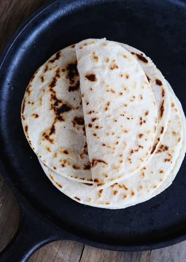 Soft Paleo Flour Tortillas
