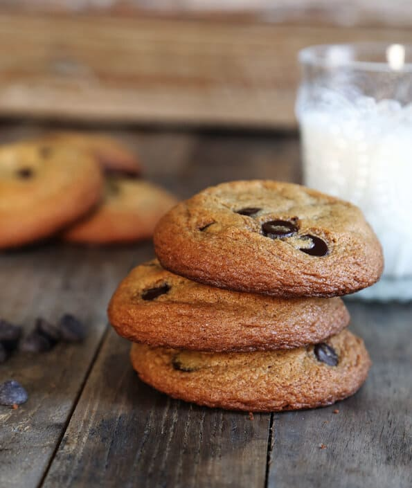 Thick & Chewy Paleo Chocolate Chip Cookies