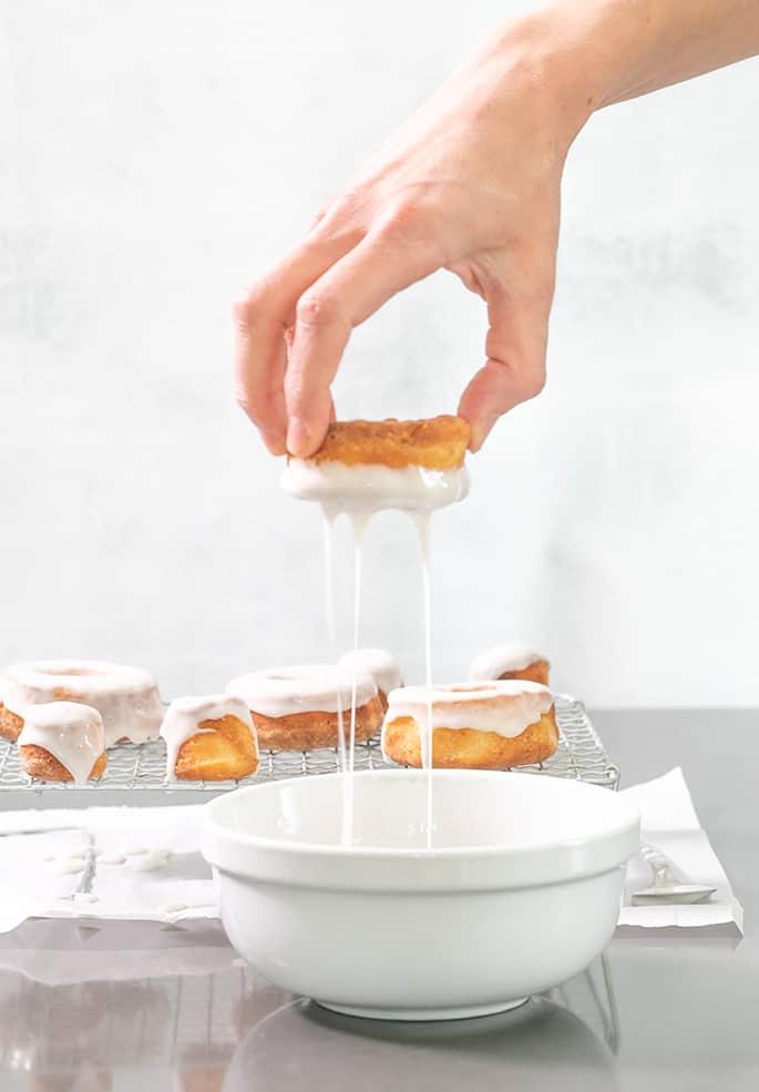 Glazed Yeast-Raised Gluten Free Donuts