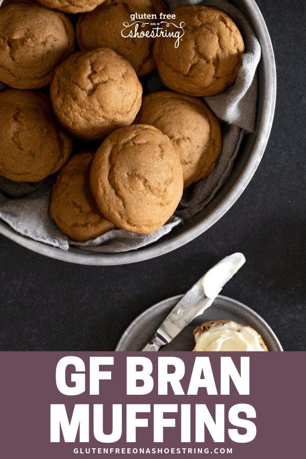 These gluten free bran muffins are special in how ordinary, but tender and tasty, they are. Try them with a smear of butter or preserves. #glutenfreerecipes #muffins #breakfast #bran
