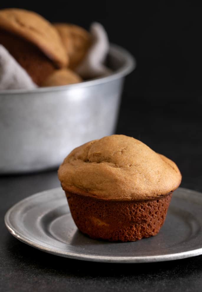 These gluten free bran muffins are special in how ordinary, but tender and tasty, they are. Try them with a smear of butter or preserves.