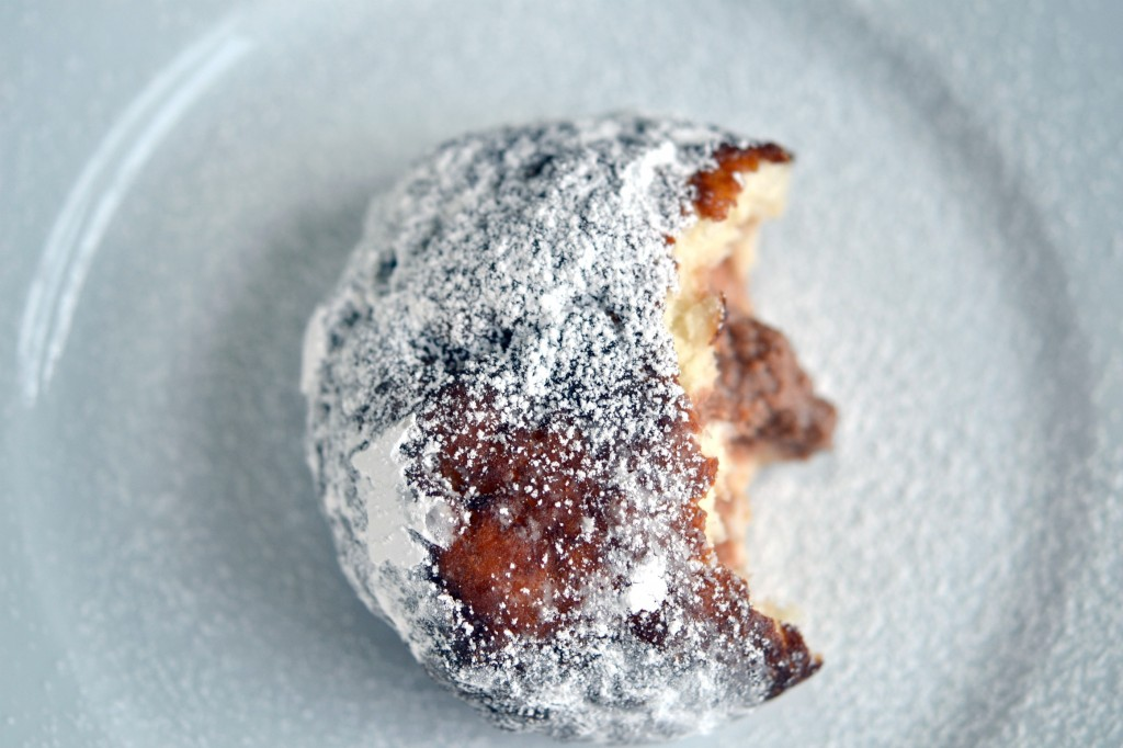 Chocolate Cream Filled Gluten Free Yeast-Raised Donut