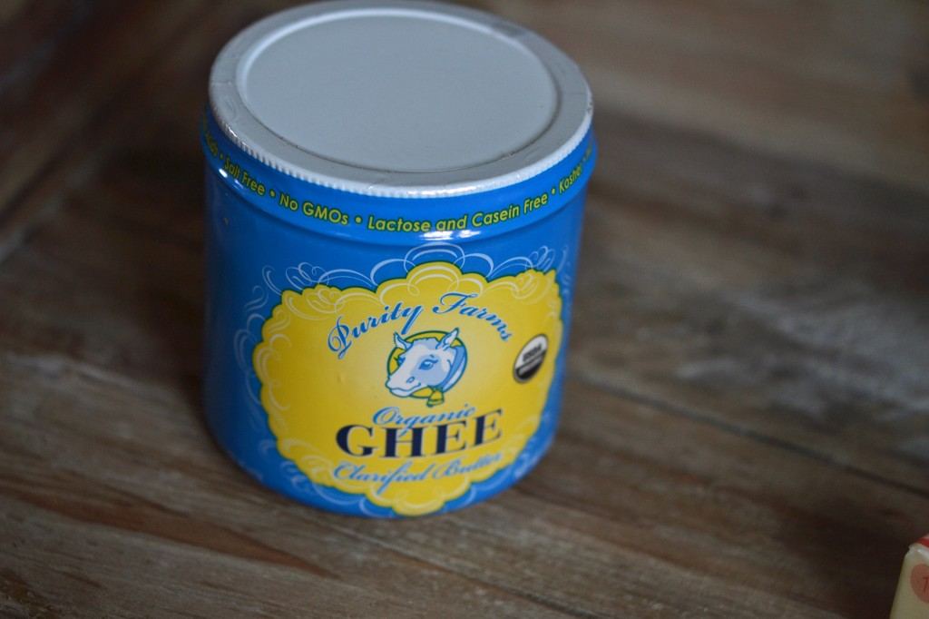 A can on wooden surface