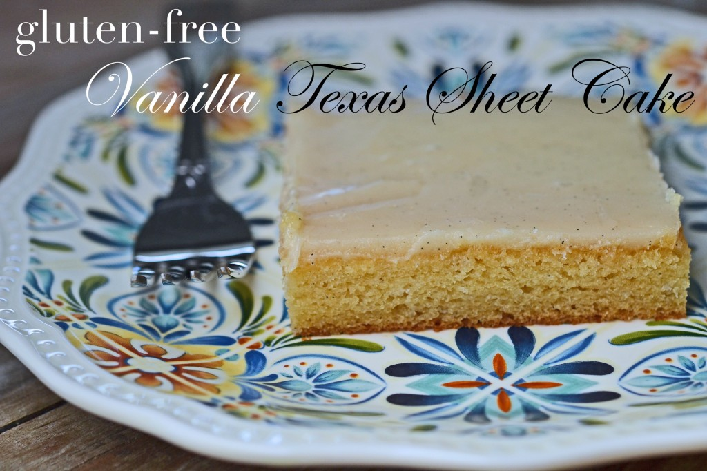 Vanilla Texas Sheet Cake