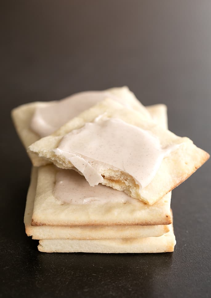 """These brown sugar and cinnamon frosted gluten free pop tarts are just like the """"real"""" thing."""