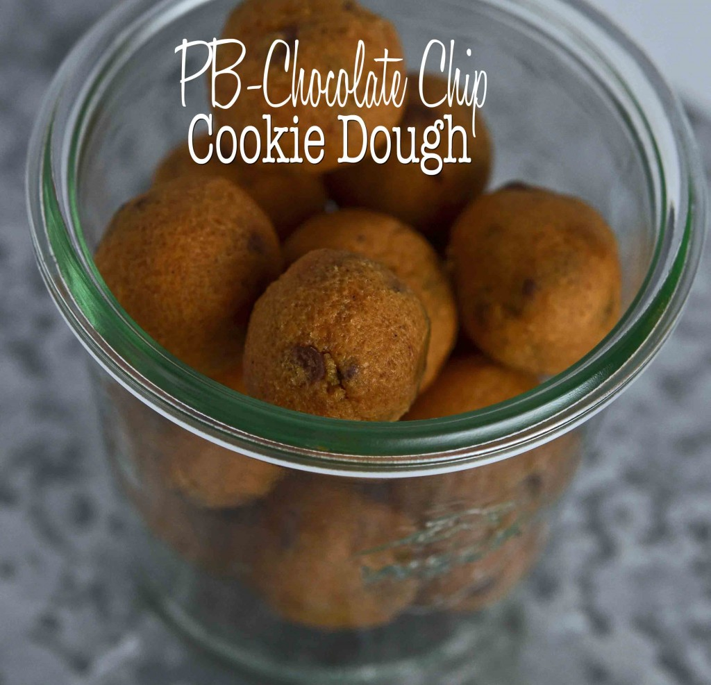 PB-Chocolate Chip Cookie Dough