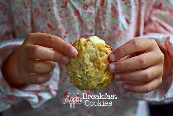 Apple Breakfast Cookies