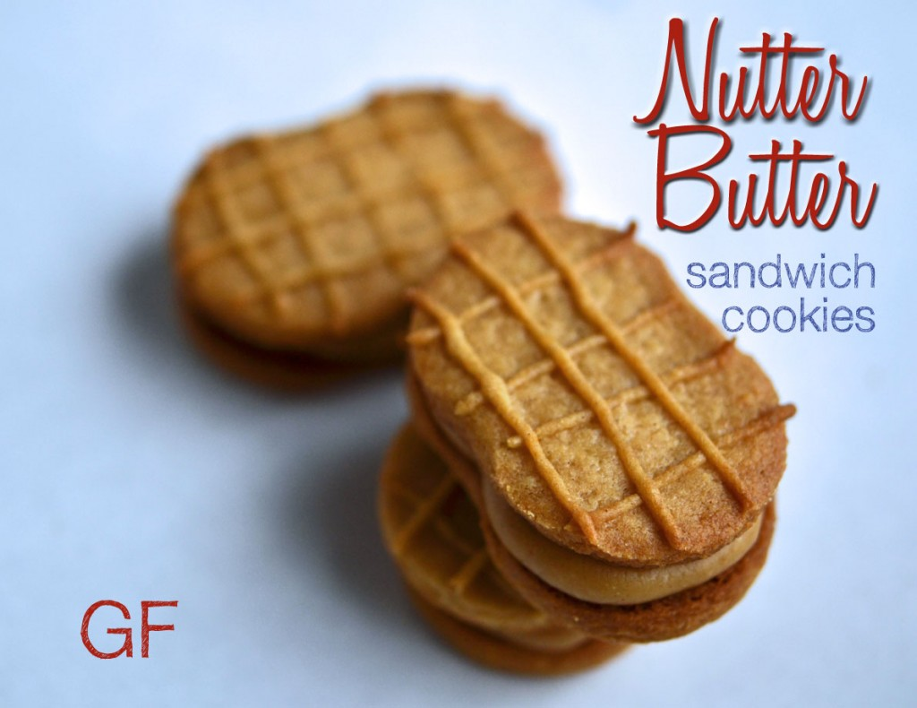 Nutter butter cookies on white plate