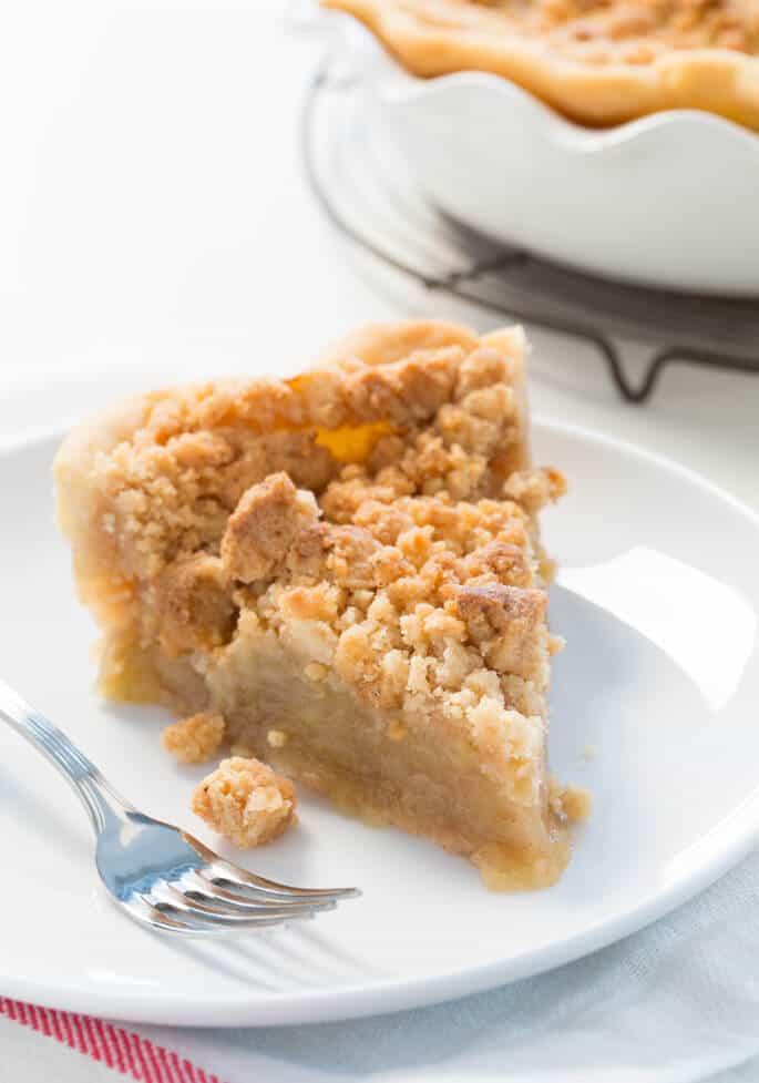 Gluten Free Dutch Apple Pie