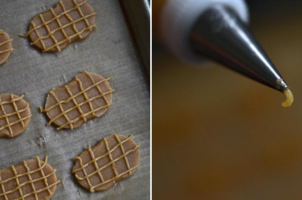 Raw nutter butter cookies