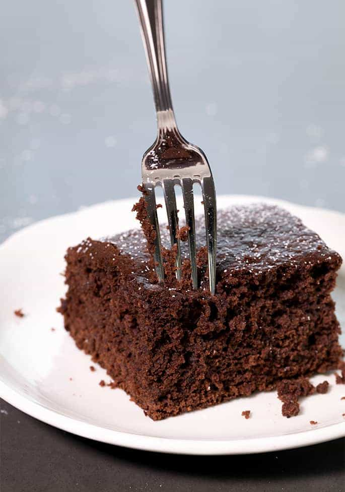 Chocolate Gluten Free Gingerbread Cake