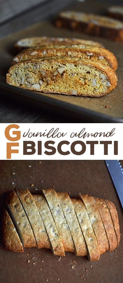 Biscotti on wooden surface