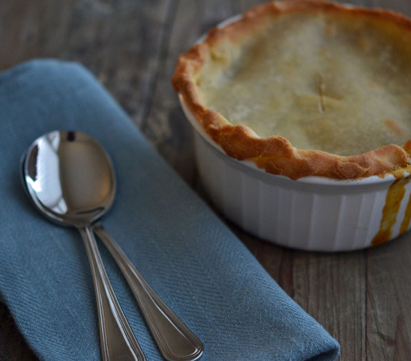 Lighter No-Butter Gluten-Free Pie Crust