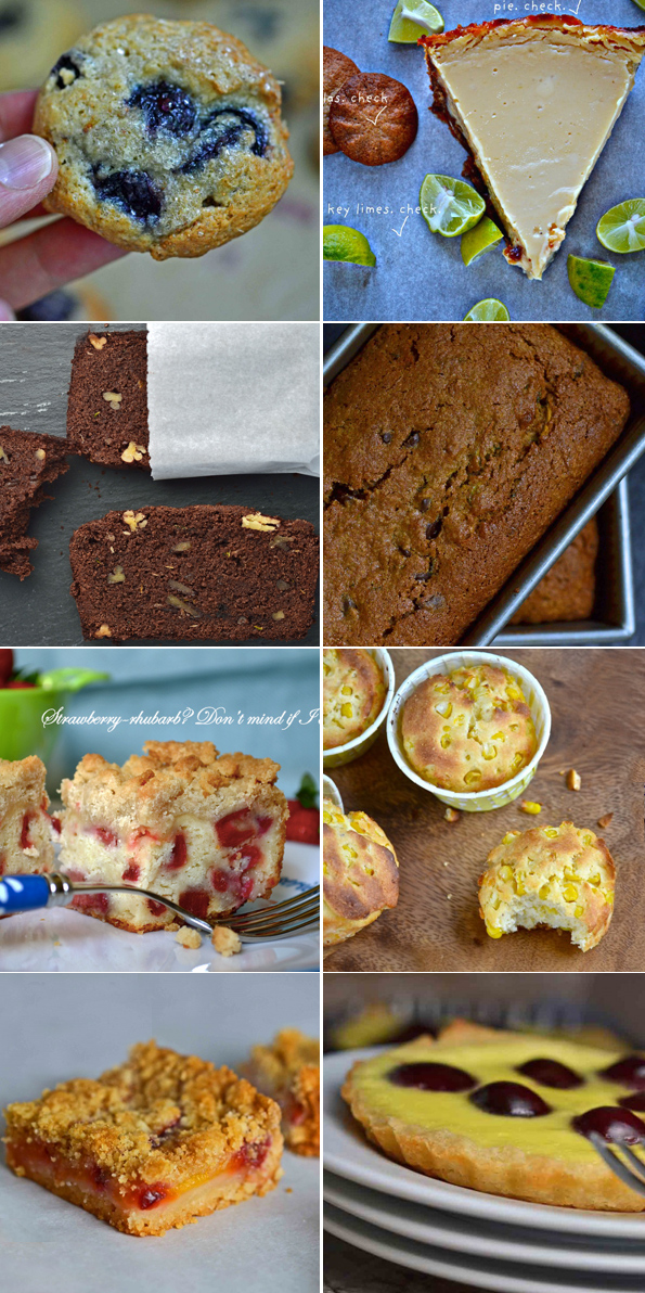Baking Gluten Free With Summer Fruits & Vegetables