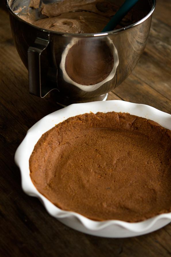 Gluten Free Pie: Peanut Butter Mousse