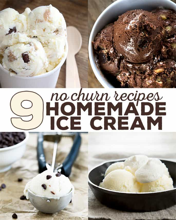 9 recipes for homemade ice cream made quickly and easily without an ice cream maker.