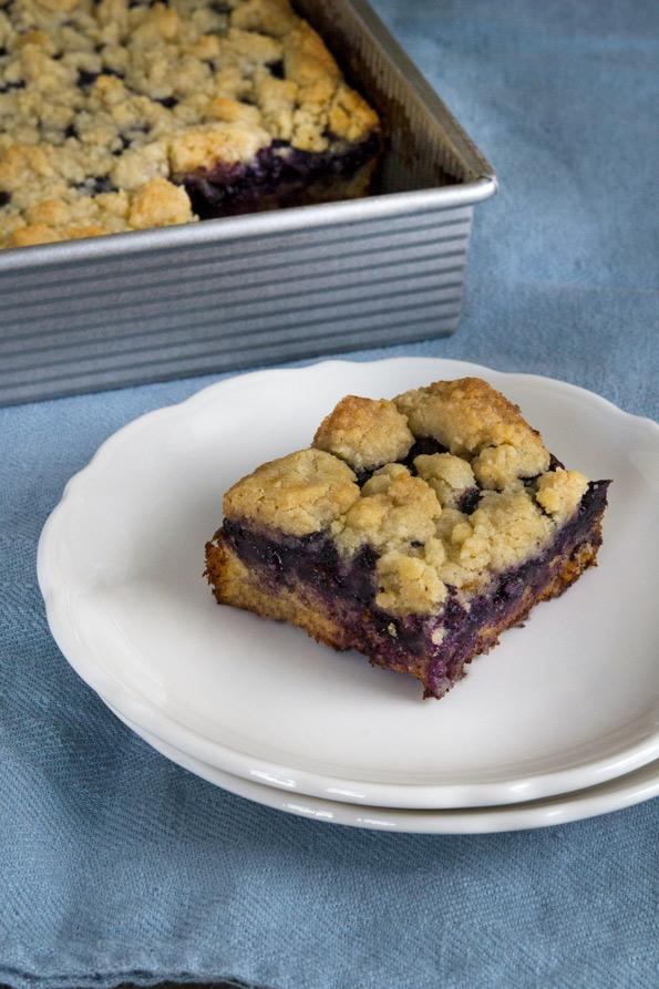 Gluten Free Blueberry Crumb Cake Recipe