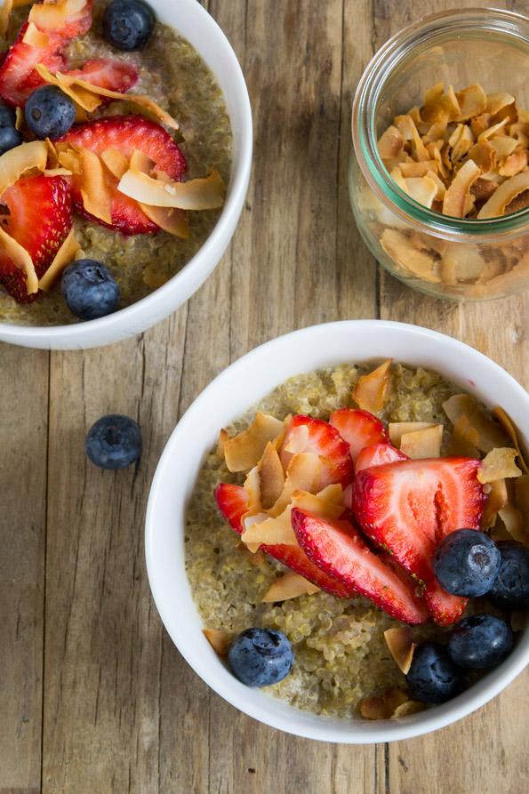 Gluten Free Breakfast Quinoa