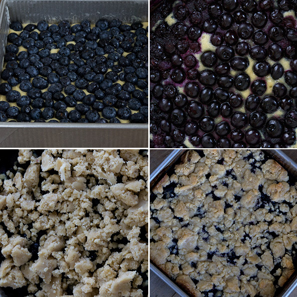 Gluten Free Blueberry Buckle