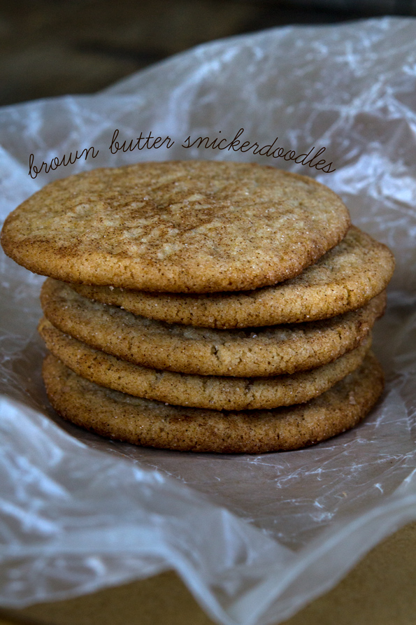 Brown Butter Gluten Free Snickerdoodles