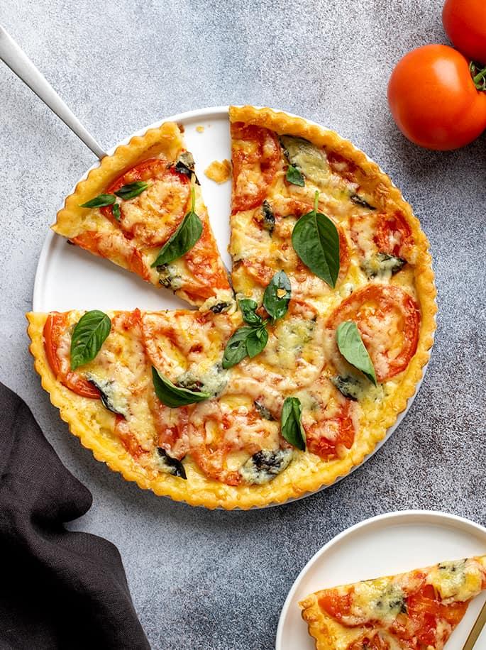 Gluten Free Tart Crust | Savory Tomato Tart