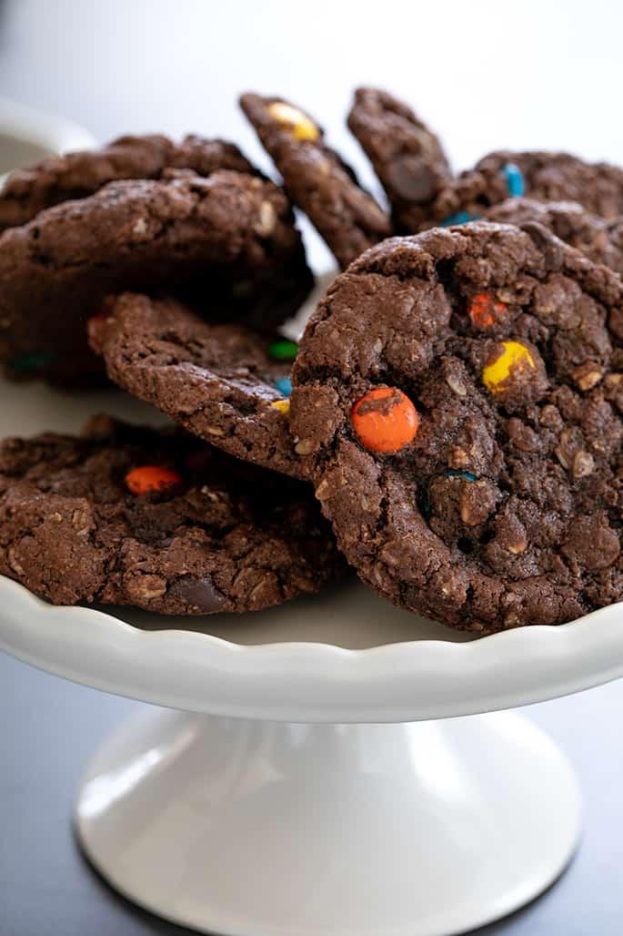 Nutella Monster Cookies