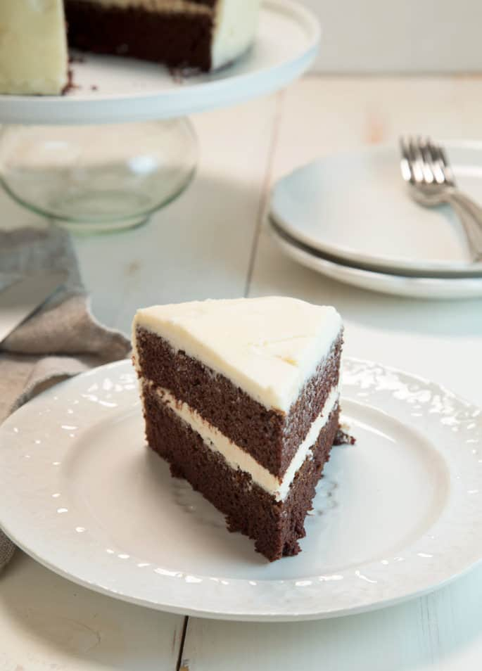 Gluten Free Devil's Food Cake | The just-rich-enough cake