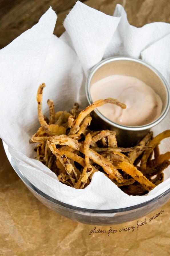 Gluten Free Crispy Fried Onions